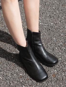 Rough toe walker boots_Y (size : 230,235,240,245,250)