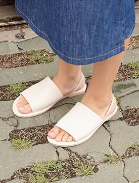 Daisy simple wide sandal_K (size : 230,235,240,245,250)