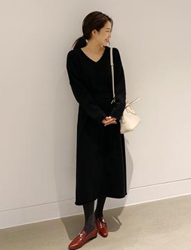 Merilbon wool knit ops_B (울 80%) (size : free)