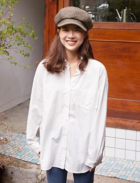 Mellow pocket shirt_K (size : free)