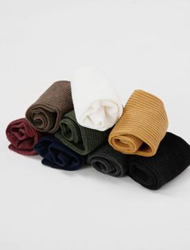 Season color golgi socks_M (size : one)
