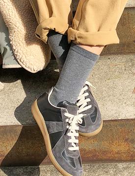 Narrow golgi socks_K (size : one)