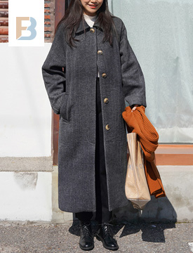 Made_outer-121_herringbone mac coat_M (울 50%) (size : free)