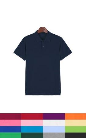 17color 베이직 코튼 카라티셔츠