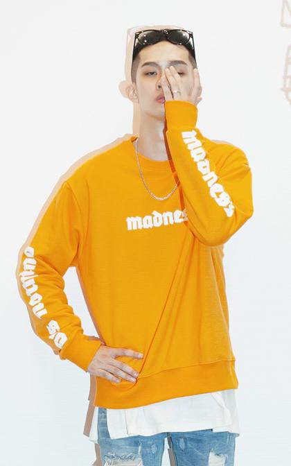 [투패스트]매드니스 레터링 오버핏 맨투맨