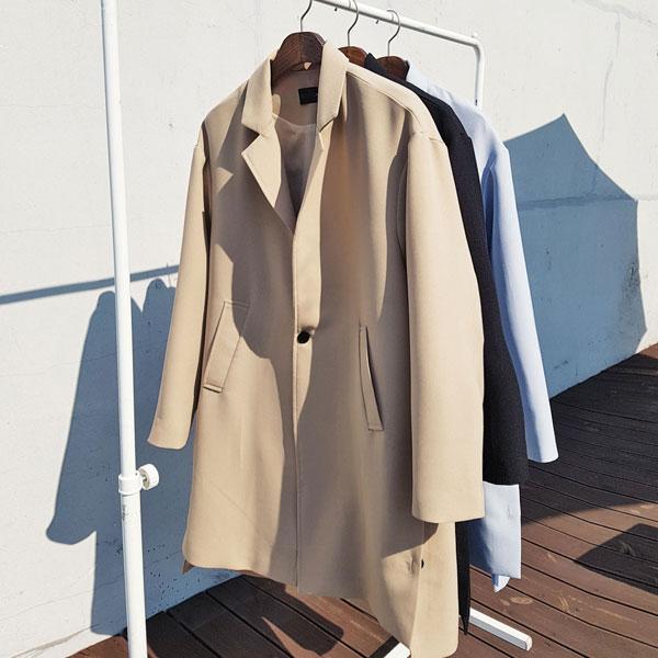 브릿지 오버핏 코트