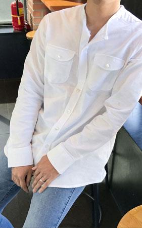 에인 라운드 셔츠