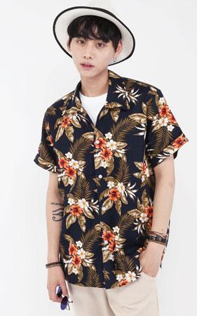 트로피칼 하와이안셔츠