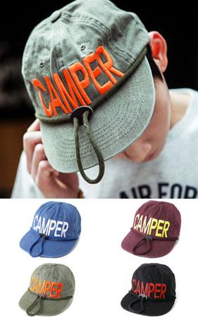 캠퍼 로프 캠프캡