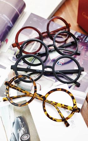 라운딩 클래식 안경