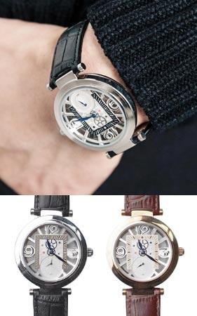 트렌스페런트 손목시계