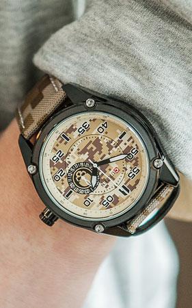 디지털 카모 손목시계